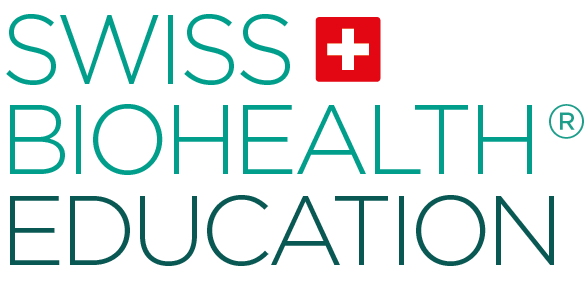 Swiss Biohealth education Logo